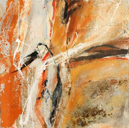 Bild aus der orangen Serie /picture of the orange series